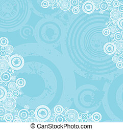 Grunge circles - Grunge circle background