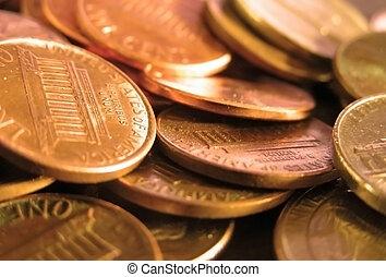 Pennies - Pile of pennies