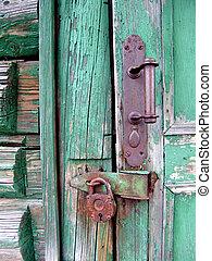 Door Lock - An old house door lock