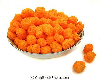 queso, pelotas