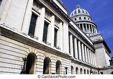 Capitolio Side View - Sideof the Capitolio building in...