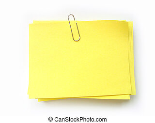 postit - write note on it