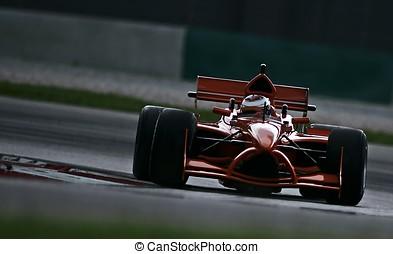 A1 Grand Prix motorsport racing.