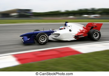 A1 Grand Prix motorsport racing.