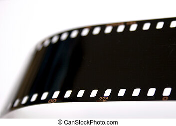 Film Strip - A strip of exposed, devloped 35mm slide film