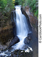Miners Falls - In Michigan\'s Pictured Rock National...