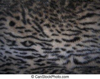 faux fur - faux animal print fur