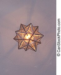 star light - star glass lightshade