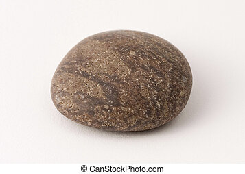 Pebble - A worn granite pebble