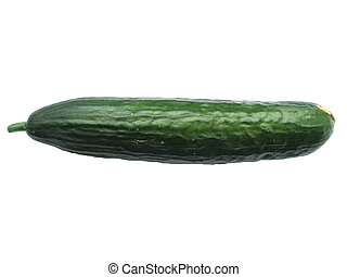 Isolated cucumber