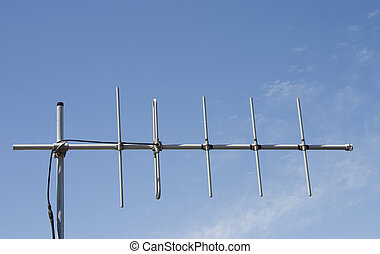 Antenna - An antenna harkens back to the pre-cable days