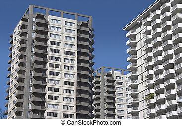 Apartment Cluster - A cluster of modern probably from the...