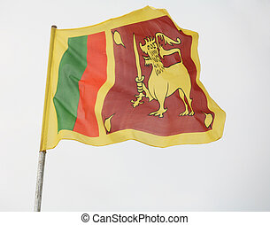 Sri Lanka's flag - The national flag of Sri Lanka