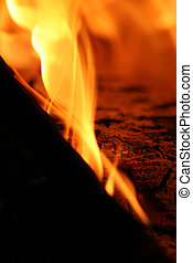 Flames - close up of flames