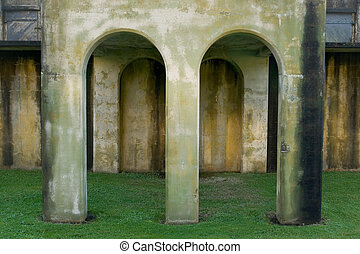 Arches, Fort Columbia