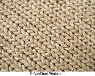 Brown wool texture - Brown wool diagonal lines