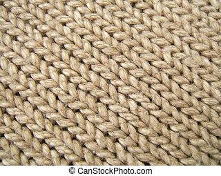 Brown wool texture - Brown wool diagonal lines