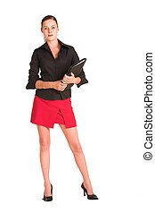 Charmaine Shoultz 1 - Business woman dressed in a black...