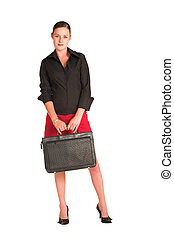 Charmaine Shoultz 14 - Business woman dressed in a black...