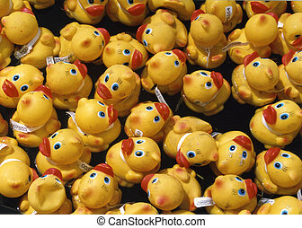 Rubber Duck Race - Annual rubber duck race in the Rideau...