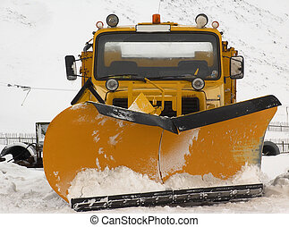 Snow Plough, scotland 2005