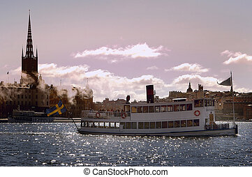 Stockholm city, Riddarholmen