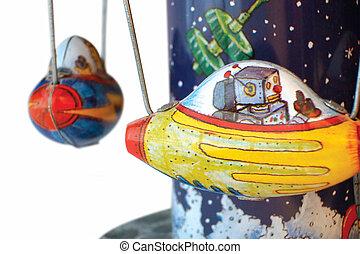 Childs tin toy - Antique tin toy