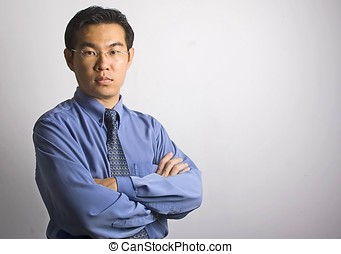 Asian Businessman - Standing Asian Businessman