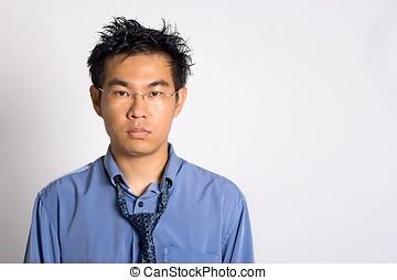 Overwork Asian Adult