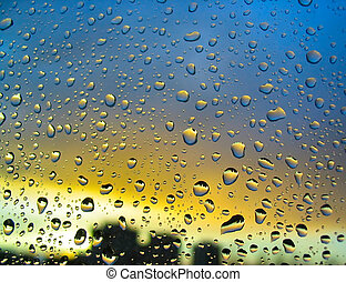 Stormy droplets 2
