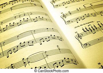 οθόνη, μουσική