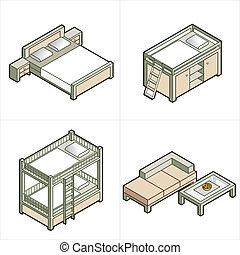 diseño, elementos, P, 16C