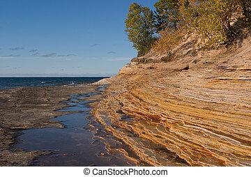 Lake Superior\'s - Mosquito Beach