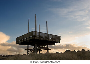 Observation Deck, South Jetty
