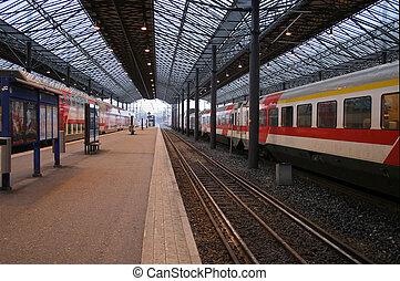 Railway station - Empty railway station