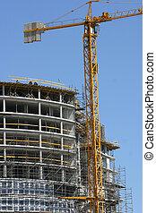 Construction - Crane at construction site