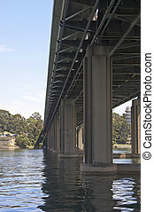 Bridge and Supports