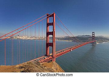 Golden Gate Bridge - The Golden Gate Bridge.