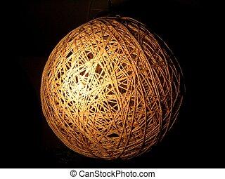 web globe - globe made of rope