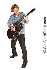 David Badenhorst #16 - Young man with guitar.