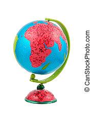 Glboe - Africa - Isolated Globe - Africa