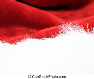 Santa Hat - Christmas Hat close-up