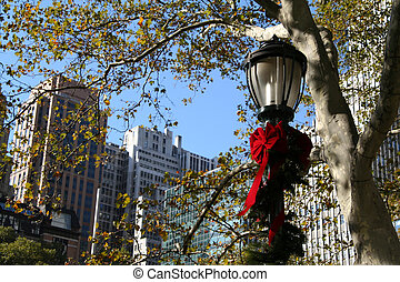 Lamp Post - NYC Holiday