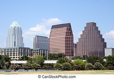 Downtown Austin, Texas - A very pretty day in Austin, Texas...