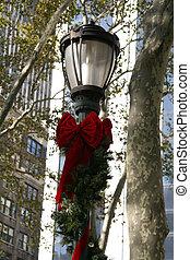 Holiday Lamp - NYC Holiday Lamp Post