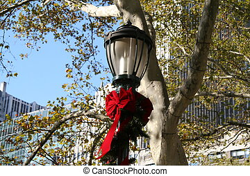 Lamp Post - NYC Holiday Lamp Post