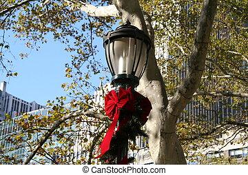 Lamp Post - NYC Holiday Lamp Post