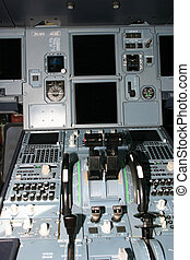 Flight controls of an Airbus