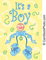 It\'s a boy! design