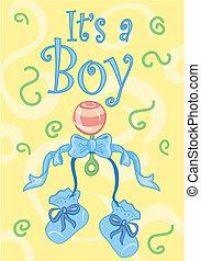 It\'s a boy! design